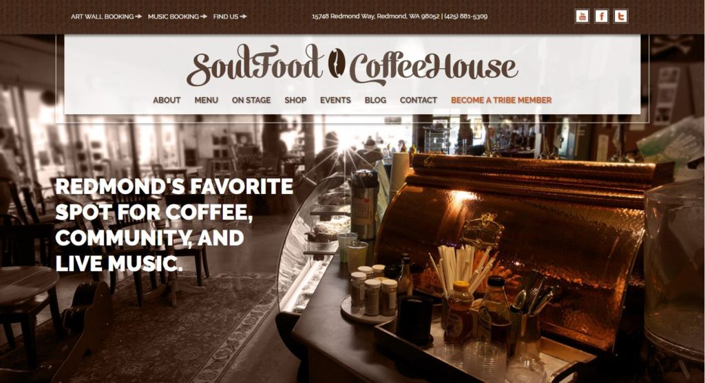 SoulFood CoffeeHouse | Best Coffe Shop in Redmond, WA